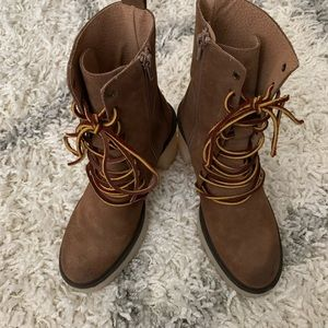 Free People Dylan Boot taupe 7